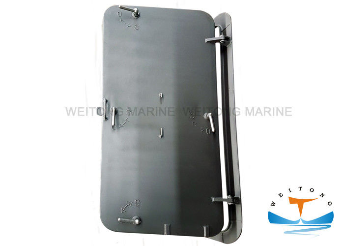 Baking Finish Marine Watertight Doors A60 Fire Prevention High Pressure Resistant